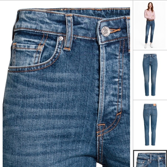 limited guantity for sale special discount H&M vintage high ankle jeans